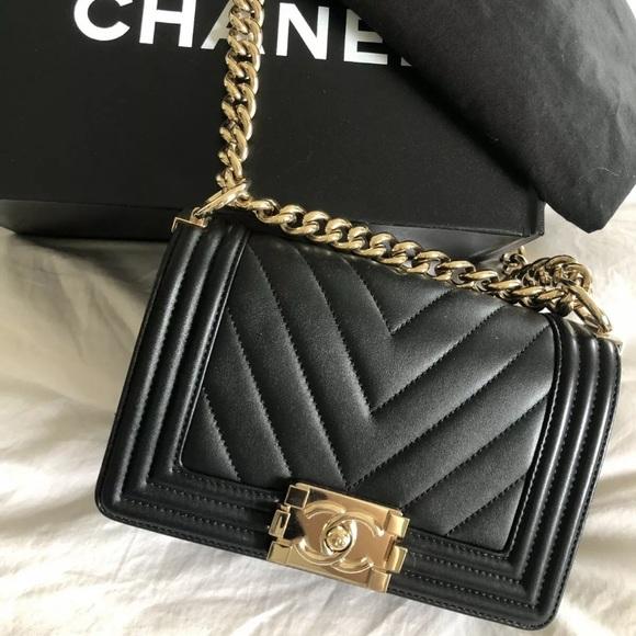 13c65a110def CHANEL Bags | Boy Bag | Poshmark